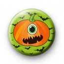 Cyclops Pumpkin Pin Button Badges