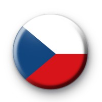 Czech Republic Flag Badge