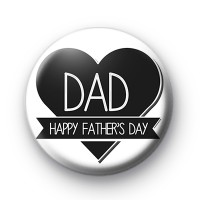 Dad Happy Father's Day Badge
