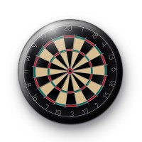 Bullseye Dartboard badge