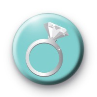 Diamond Ring Button Badges