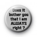 Always right badges