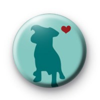 Mans Best Friend Button Badges