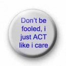 Don't be fooled badges