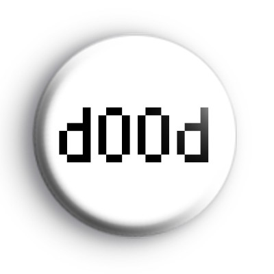 d00d (Dude) Badge