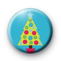 Dotty Spotty Christmas Tree Badge