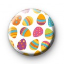 Easter Eggs Galore pin badge