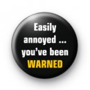 Warned badges