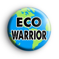 ECO Warrior Planet Earth Badge