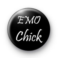 EMO chick Badges