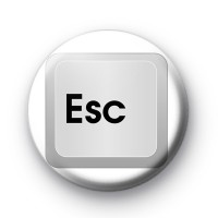 Esc Key Button Badges