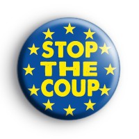 Stop The Coup EU Flag Badge thumbnail