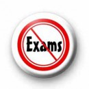 No Exams Badge badges