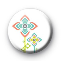 Extra Modern Flower Badge