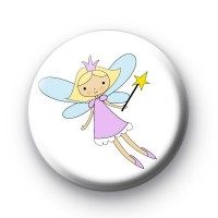 Fairy Star Wand Button Badges