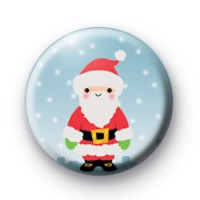 Xmas Ho Ho Ho Santa Badge