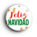 Feliz Navidad Spanish Merry Christmas Badge