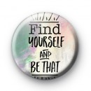 Find Yourself and Be That Badge