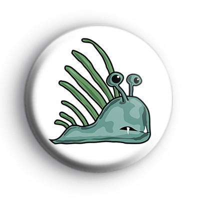 Green Monster Fish Badge