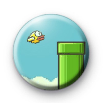 Flappy Bird Button Badge