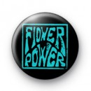 Blue Flower Power badges