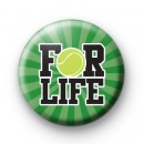 For Life Tennis Badge