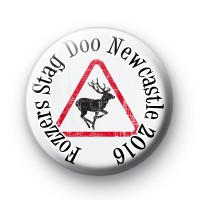 Fozzers Custom Stag Do BAdges