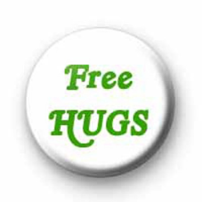 Free Hugs Badge