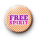 Free Spirit Button Badges