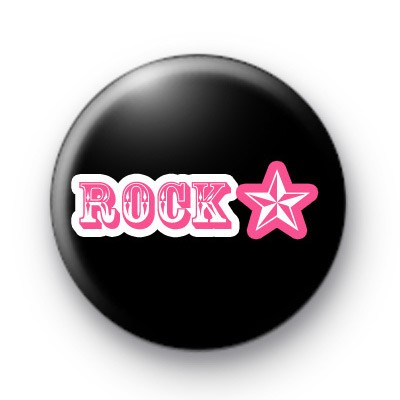 Rock On Rock Star Button Badges