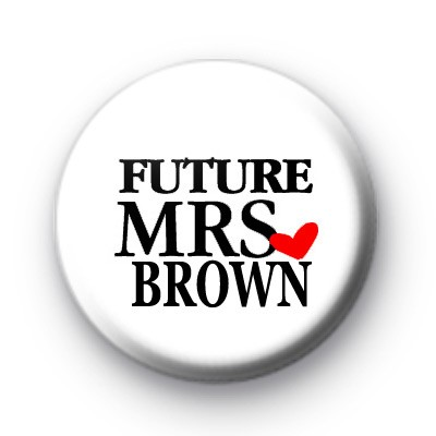 Future Mrs Wedding Badge