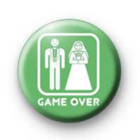 Game Over wedding badges