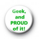 Geek and proud of it badge