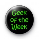 Geek of the Week 2 badges