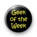 Geek of the Week 5 badges