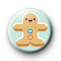Gingerbread Lady Button Badges