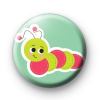 Glow Worm Cute button badges
