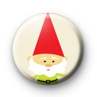 Super Cute Gnome Button Badge