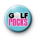 Golf Rocks Button Badges