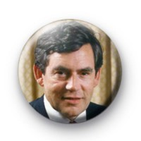 Gordon Brown Picture Badge