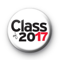 Class of 2017 Button Badge