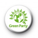Green Party Political Badge