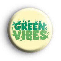 Green Vibes ECO Themed Badge