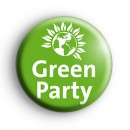 Green Party Election Political Badge