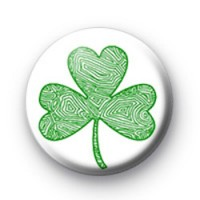 Green Shamrock badges