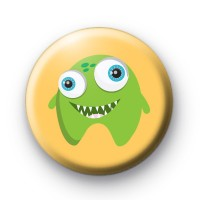 Extra Cute Green Monster Badges