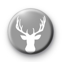 Grey and white stag badges