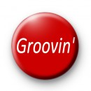 Groovin Deep Red custom Badge