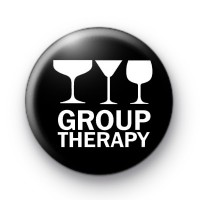 Group Therapy Button Badge