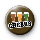 Pints of Beer Cheers Badge